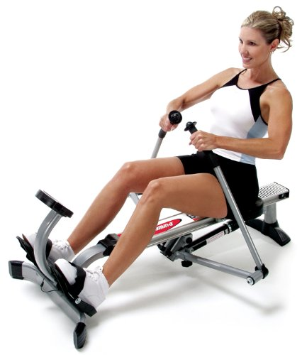 If you think rowing is just for steady-state fitness, think again - the machine is great for both endurance and interval training.