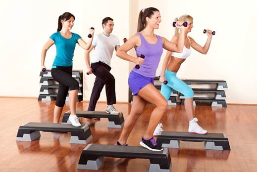 'Or find a group exercise class to get a healthy dose of team spirit.'