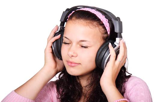 'Music is the best mood enhancer, as it gets the feel-good hormones flowing,' says life coach Louise Presley-Turner