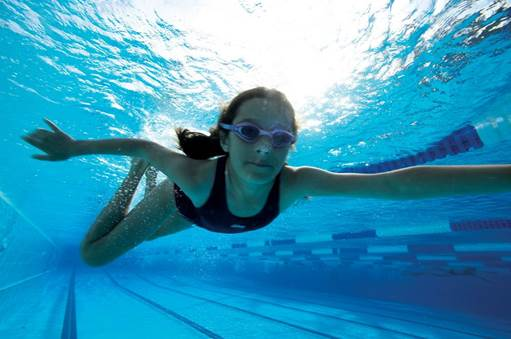 Swimming is an incredibly safe way to get fit, tone and lose weight for all ages and fitness levels. It is my favorite way to de-stress, workout and calibrate.