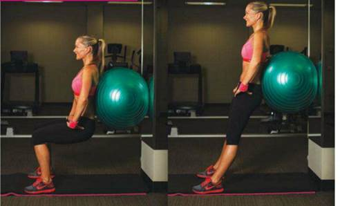 Ensure core is engaged and pelvis tucked under 10 reps/3 sets