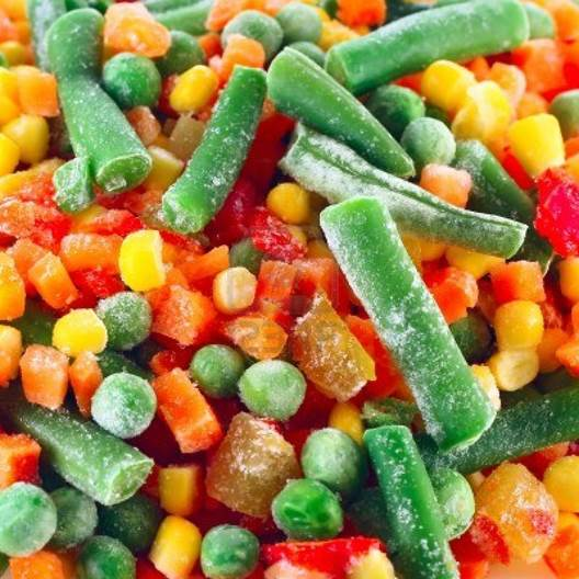 The winner is... Frozen or local veg.