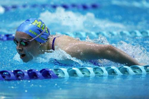 Add a medley fly/backstroke/ breaststroke/freestyle of your own distance - try it for fun even if it's been a while