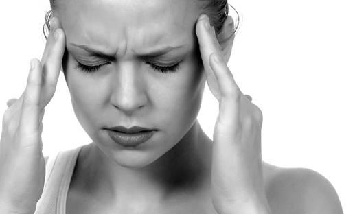 Stress can easily cause headache.