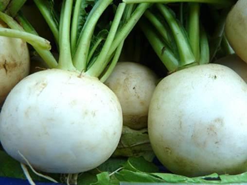 Turnip is rich in fiber, potassium, vitamin C and antioxidants.