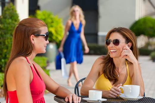 Chatting can considerably help you to release the stress.