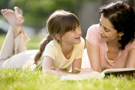 Point out the positive female models when you and your child read, watch news together.
