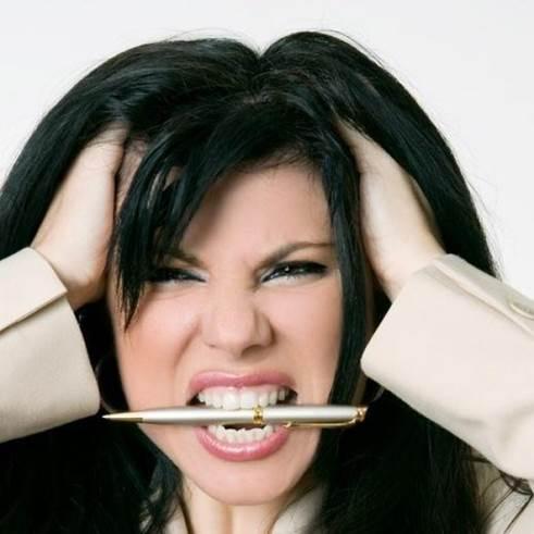 Hot temper can increase stress.