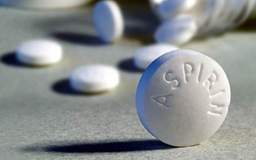 Although aspirin has the ability to cool down the fever, it has many side effects.