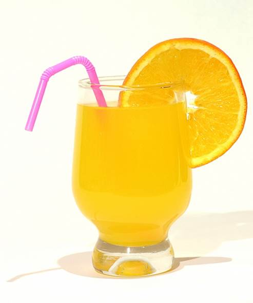 Grapefruit and orange juice can lead to negative effect if you drink them with some new medicines.
