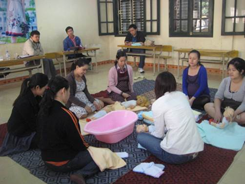 Attending antenatal classes will be useful for pregnant women.
