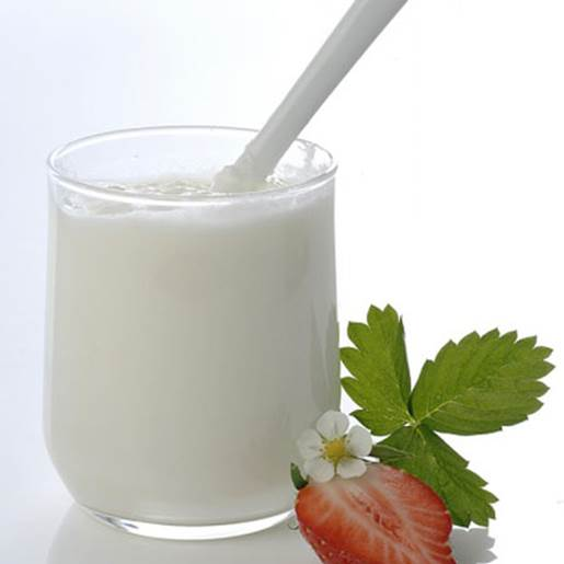 Products from milk can provide a lot of protein and calcium.