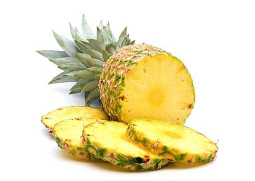 Pineapple is a good fruit and it is rich of vitamin; however, children have allergy when they eat pineapple.