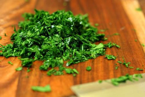1 bunch chopped fresh parsley