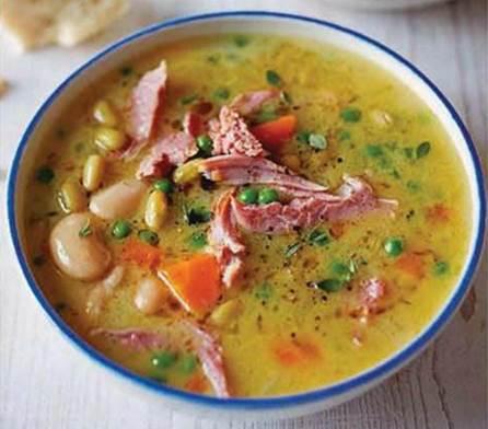 Gammon & bean stew