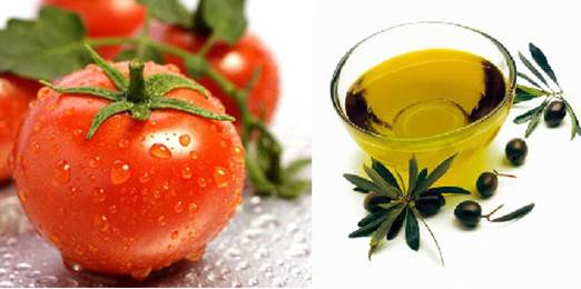 The combination of tomato and olive oil helps purify blood, removes kidney stone while improve liver function, detoxify your body and reduce the effects of blood pressure increase.