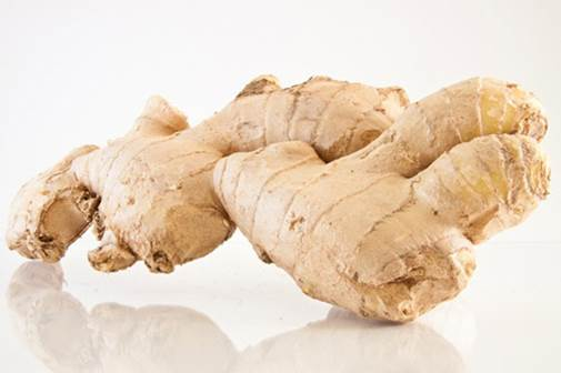 Ginger helps quickly detoxify.