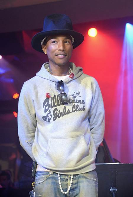Pharrell Hat Designer Pharrell Recently Designed 'i