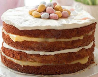 Description: Easter passion cake