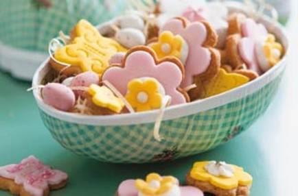 Description: Description: Spring meadow biscuits