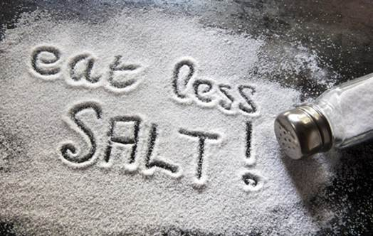 Description: Limit the habit of eating salt