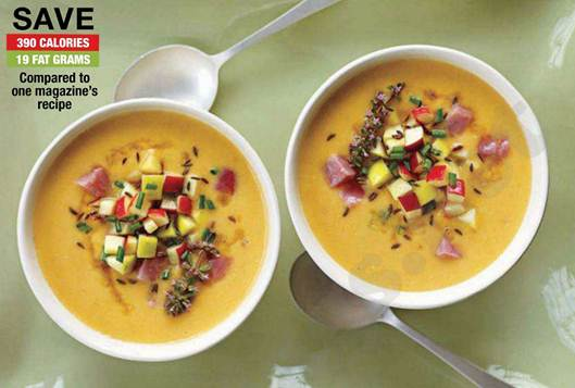 Description: Cheddar-Apple BISQUE