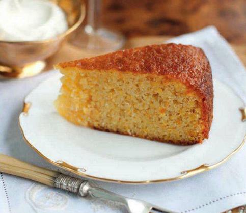 Description: Orange and lemon cake with olive oil