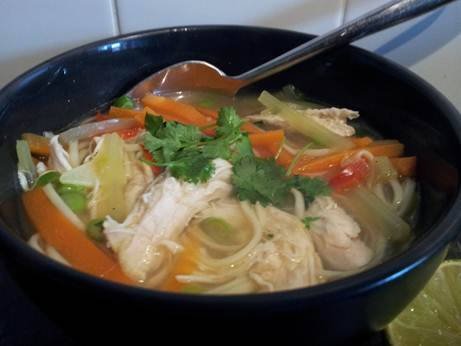 Description: chicken noodle soup