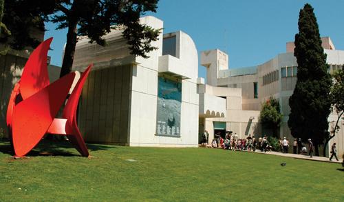 Barcelona's Top 10 : Fundació Joan Miró
