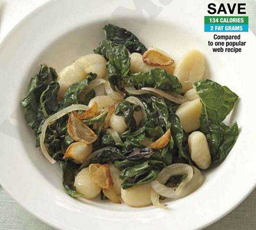 Description: Gnocchi With Swiss Chard