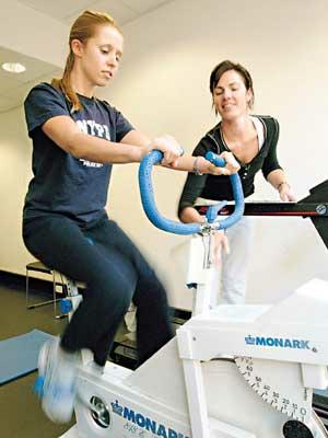 Description: Fitness test