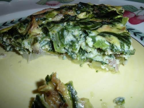 Description: Florentine Frittata