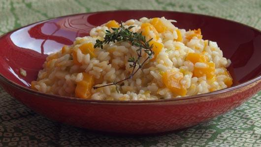 Description: Pumpkin Risotto Italian rice