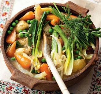 Description: Spring vegetable stew