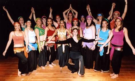 Description: Tenille Lindeque at Feminine Divine Oriental Belly Dance Studio