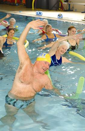 Description: Try aqua aerobics if you enjoy being in the water