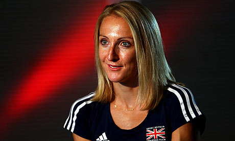 Description: Paula Radcliffe's inspiring attitude makes her Kirsty's role model.