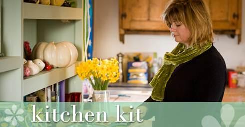 Description: Sarah Raven in kitchen kit