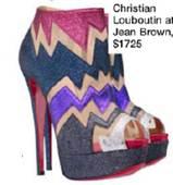Description: 4. Christian Louboutin at Jean Brown, $1,725