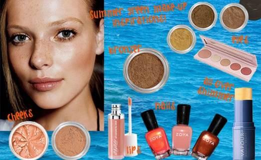 Description: Some tips for makeup in summer days