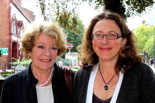 Description:  Lara and Dame Janet Suzman
