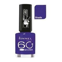 Description: Rimmel 60 Seconds Nail Polish in Blue My Mind