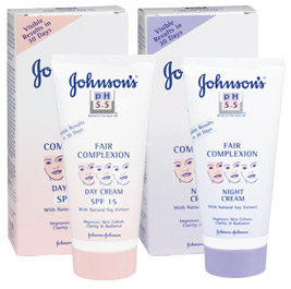Description: Johnson's Fair Complexion Day Cream SPF 15, R27