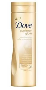 Description: Dove Summer Glow Nourishing Lotion