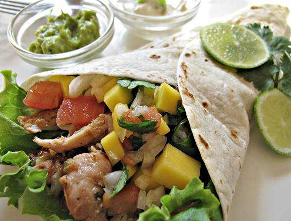 Description: Meals in minutes: Healthy fajitas