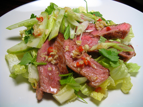Description: Thai Steak Salad