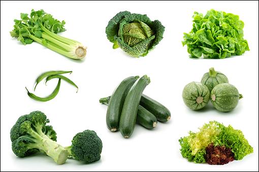 Description: Green vegetables