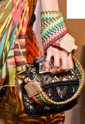 Description: Tip: Don't be afraid to pair safari-style accessories with prints and brights for a high-voltage look