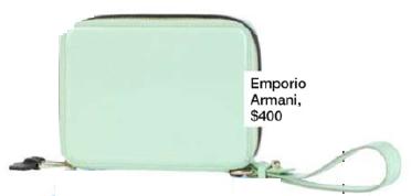 Description: 12. Emporio Armani, $400