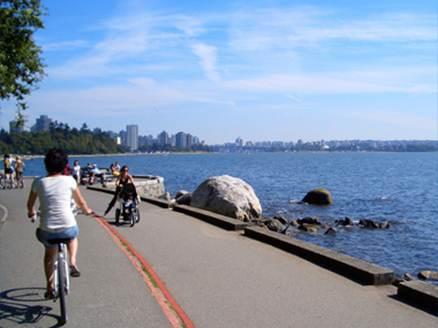Description: Description: Seaside bicyle route
